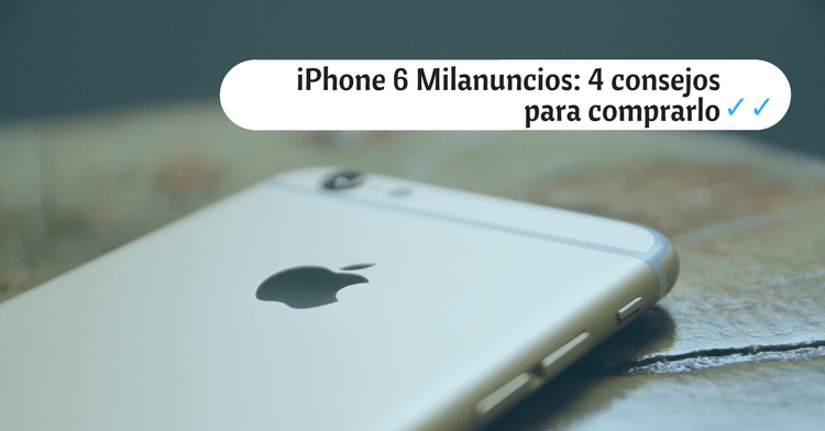 iphone 6 milanuncios