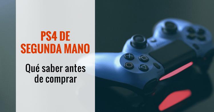 PS4 de segunda mano