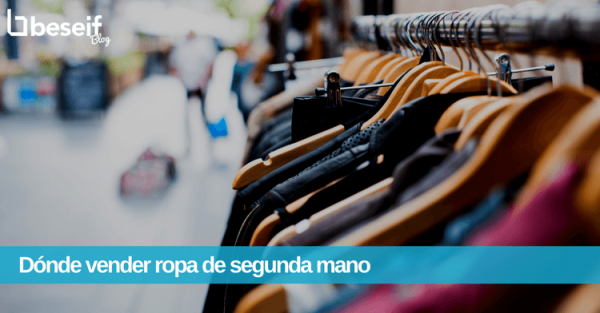 vender ropa segunda mano