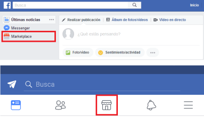 acceder facebook marketplace