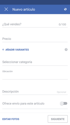 vender facebook marketplace