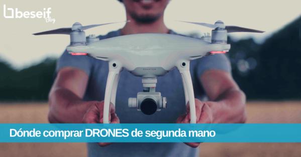 drones segunda mano