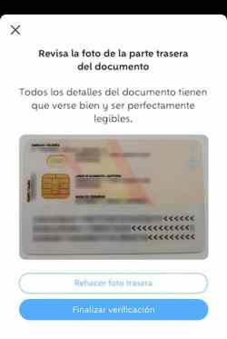 verificar identidad wallapop